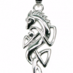 silver Celtic horse