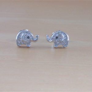 elephant earrings uk