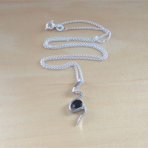 garnet snake necklace uk