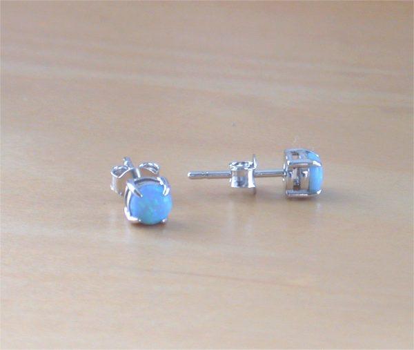 blue opal earrings uk