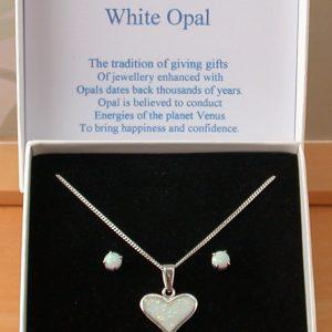 opal necklace uk