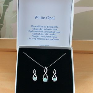 Opal Necklace & Earring Gift Sets