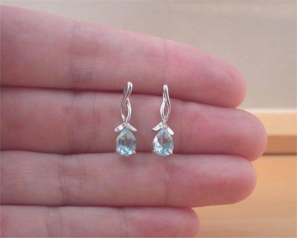 topaz earrings uk