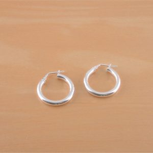 21mm hoop earrings