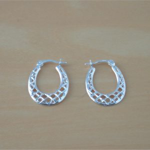 23mm hoop earrings