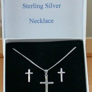 Silver Necklace & Earring Sets